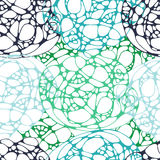 Бесконечная абстрактная картина оформления Стоковые Фото