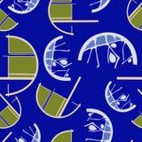 Бесконечная абстрактная coloful картина лимона Стоковые Фото