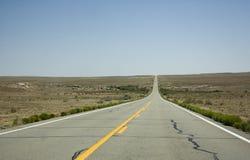 Бесконечная дорога Стоковое Изображение RF