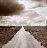 бесконечная дорога Стоковая Фотография RF