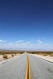 бесконечная дорога Стоковое Фото