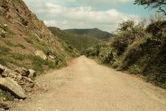 бесконечная дорога Стоковое Изображение