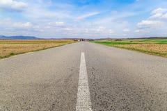 бесконечная дорога Стоковое фото RF
