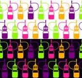 Бесконечная предпосылка бутылки Стоковые Изображения RF