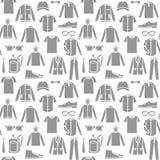 Бесконечная предпосылка одежд Стоковые Фотографии RF