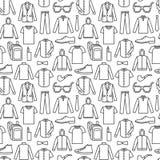 Бесконечная предпосылка одежд Стоковое Изображение RF