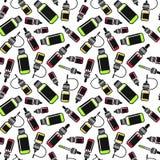 Бесконечная предпосылка e-жидкости Стоковое Фото