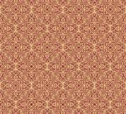 Бесконечная текстура с стилизованной сделанной по образцу мандалой в индийском стиле Стоковые Фотографии RF