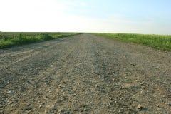 бесконечная дорога Стоковая Фотография