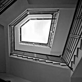 Бесконечное Upstair стоковое фото rf