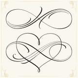 Бесконечные дизайны влюбленности Стоковое Изображение RF
