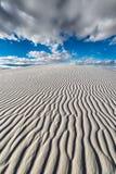 Бесконечные пульсации песка стоковое изображение rf