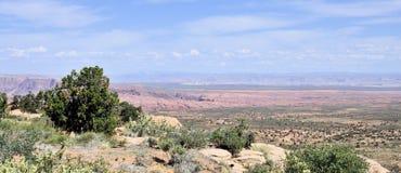 Бесконечный ландшафт Аризоны Стоковые Фотографии RF