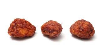 Бескостные крыла цыпленка стоковое изображение