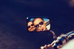 Беспечальный портрет пары Стоковое Изображение RF