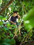 Беспечальный портрет ребенка Стоковое Изображение RF