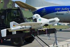 Беспилотный воздушный корабль EMT луна X-2000 Стоковое Изображение RF