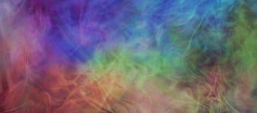 Бесплотное газообразное пестротканое знамя предпосылки Стоковые Фото
