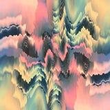бесплотные формы shimmering Стоковая Фотография RF