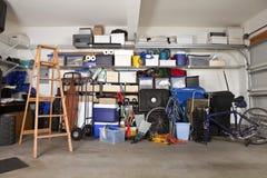 беспорядок гаража Стоковые Фото