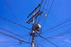 беспорядок электрический стоковое изображение