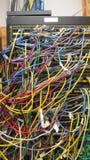 беспорядок кабеля Стоковое фото RF