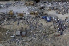 Беспорядок строительной площадки Стоковая Фотография