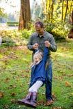 Беспристрастная потеха парка с детьми Стоковое Изображение
