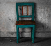 Беспристрастный винтажный стул Стоковые Фотографии RF