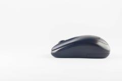 Беспроволочная мышь компьютера на белой предпосылке Стоковые Изображения
