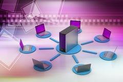 Беспроволочная система сети Стоковая Фотография RF