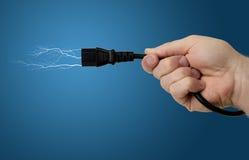 Беспроволочная сила Стоковая Фотография RF