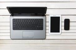 Беспроволочная технология мобильных устройств Стоковое Изображение RF
