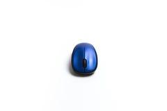 Беспроволочной предпосылка bluetooth изолированная мышью белая Стоковое Изображение