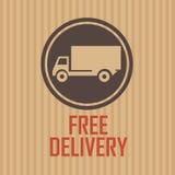 Бесплатная доставка Стоковое Изображение RF