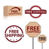 Бесплатная доставка Стоковые Изображения RF