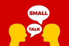 Бессодержательный разговор/разговор о пустяках иллюстрация вектора