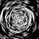 Бесцветная абстрактная нервная иллюстрация, грубая monochrome текстура Стоковое Изображение