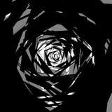 Бесцветная абстрактная нервная иллюстрация, грубая monochrome текстура Стоковая Фотография RF
