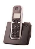 Бесшнуровой домашний изолированный телефон стоковое фото rf