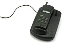 бесшнуровой старый телефон Стоковые Изображения