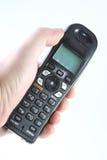 бесшнуровой телефон руки Стоковое Изображение RF