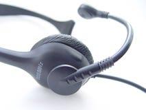 бесшнуровой телефон шлемофона Стоковая Фотография