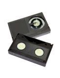 бета cassetes форматируют видеоленту стоковое изображение