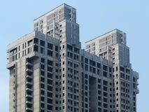 Бетонная конструкция здания Стоковые Изображения