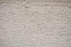 Бетонная стена белизны текстуры волны Стоковая Фотография