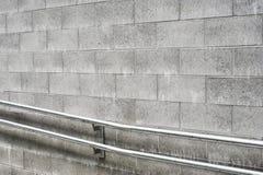 бетонная стена блока Стоковое фото RF