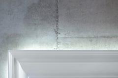 Бетонная стена и карниз Стоковое Изображение RF