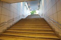 Бетон лестницы Стоковые Фото