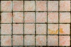 Бетон или мостить серые слябы или камни мостоваой стоковые фотографии rf